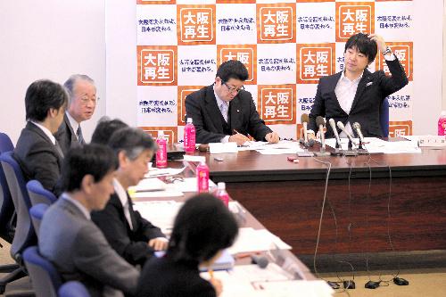 先の衆院選で日本維新の会の候補陣営から運動員が公選法違反(買収)容疑で... 選挙後もイメージの