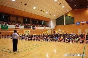 県小学生バドミントン大会開会式副会長挨拶25.8.24