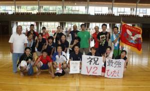 県体バドミントン2連覇24.9.9