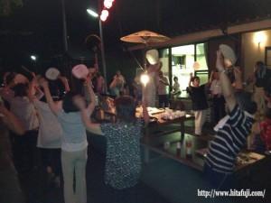 盆踊り25.8.13 ④