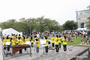日隈小学校金管バンド