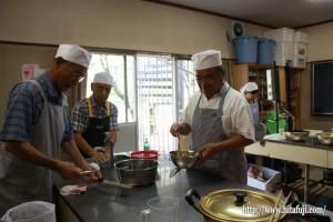 男の料理教室③①25.9.12