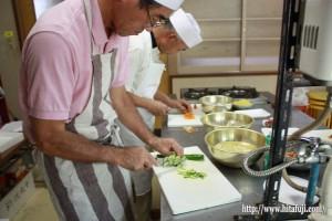 男の料理教室②25.9.12