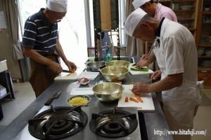 男の料理教室①25.9.12
