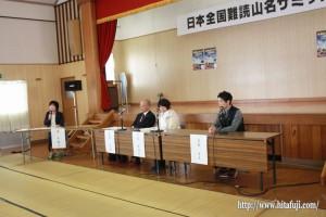 全国難読山名サミット討論会①25.10.27