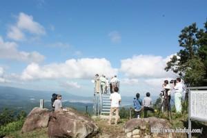 月出山岳展望台お披露目25.9.5