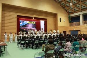 東有田中学校文化祭藤蔭高校吹奏楽部演奏