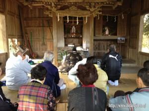 霜月祭り大原八幡宮より25.11.24