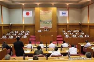 日田市議会議場