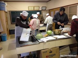 男の料理教室26.1.14 ②