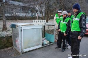 ゴミステーションの視察と指導26.1.13 ③