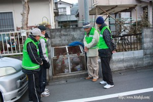 ゴミステーションの視察と指導26.1.13 ④