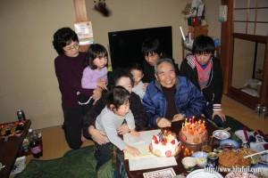 父誕生日26.1.2 ①