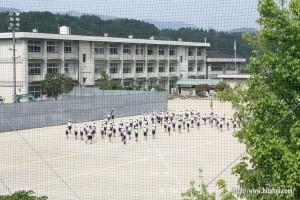 有田小学校鼓笛隊練習25.5.9