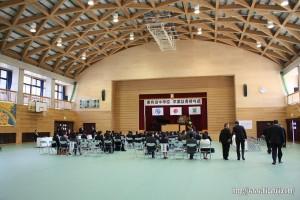 東有田中学校卒業式25.3.8