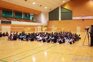 若鮎カップ 開会式14チーム131名参加26.2.23
