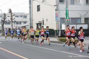 大分合同駅伝大会26.2.19 日田市出発