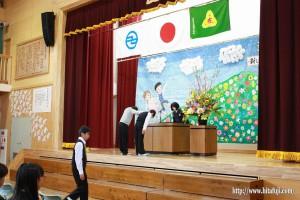 有田小卒業式26.3.24①