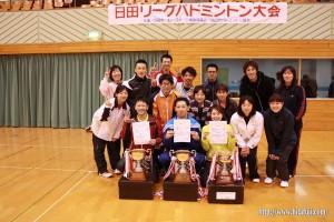 日田リーグ26.3.16 大活躍の玖珠クラブチーム