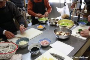 男の料理教室26,3,11 ②