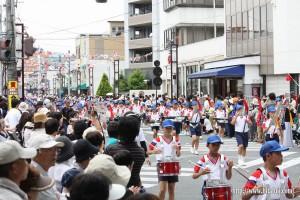 川開き観光祭音楽パレード