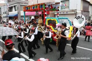 観光祭どんたくカーニバル藤蔭高校吹奏楽部16.5.25