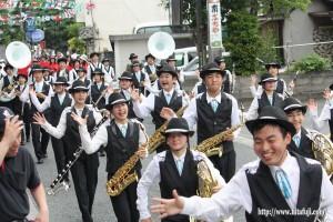 川開き観光祭音楽パレード①