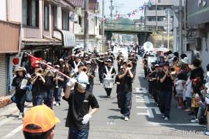 川開き音楽パレード三隈中26.5.24