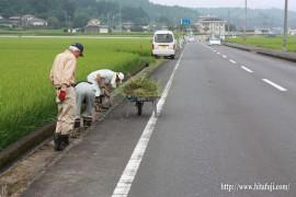県道清掃活動②26.8.31
