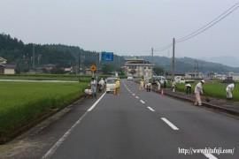 県道清掃活動①26.8.31