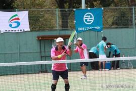 県体ソフトテニス①