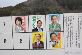 県議選掲示板