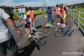 県体自転車⑥転倒事故26.9.14