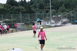 県体ソフトテニス②