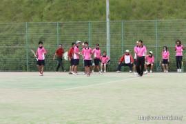 県体ソフトテニス③