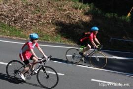 県体自転車②女性は日田の選手26.9.14