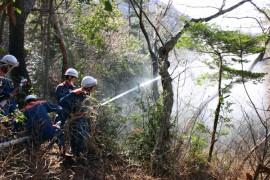 林野火災①