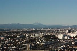 マンションから富士山が・・・26.11.8