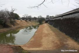 東有田公民館研修視察熊本城②27.1.30