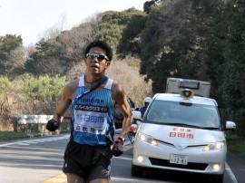 6区田吹選手区間賞