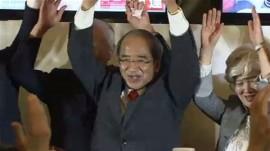 広瀬勝貞氏4選当選