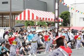 川開き観光祭27.5.24 市長の前で・・・