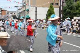 川開き観光祭27.5.24 杉野氏と小池昭太郎氏