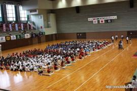 総合開会式 県総合体育館