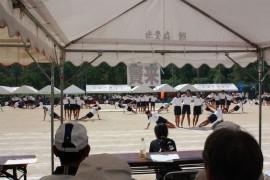 有田小運動会①27.10.4