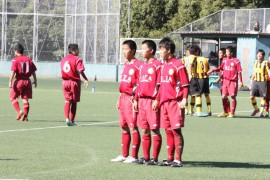日田高校と柳ノ浦高校のサッカー試合②