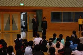 会長杯バドミントン大会27.11.1開会式③