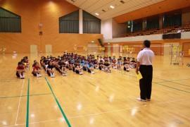 日田市小学生バドミントン大会挨拶