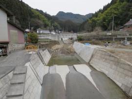 有田川災害横畑完成①31.1.11