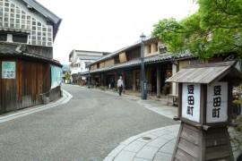 豆田町風景